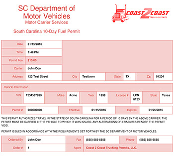 Vehicle transit permit texas vehicle ideas for South carolina department of motor vehicles bill of sale